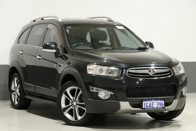Used Holden Captiva CG Series II 7 LX (4x4), 2011 Holden Captiva CG Series II 7 LX (4x4) Black 6 Speed Automatic Wagon