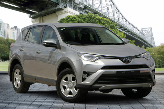 Used Toyota RAV4 ASA44R GX AWD, 2016 Toyota RAV4 ASA44R GX AWD Silver 6 Speed Sports Automatic Wagon