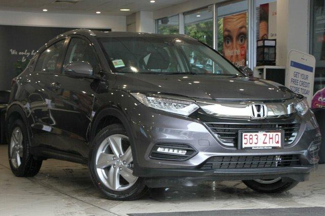 Demo Honda HR-V MY20 VTi-S, 2019 Honda HR-V MY20 VTi-S Modern Steel 1 Speed Constant Variable Hatchback