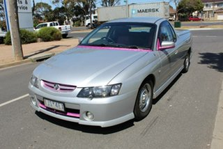 2004 Holden Commodore VY II Storm Silver 5 Speed Manual Utility.