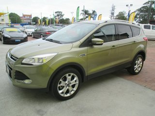 2013 Ford Kuga TF Trend AWD Gold 6 Speed Sports Automatic Wagon.