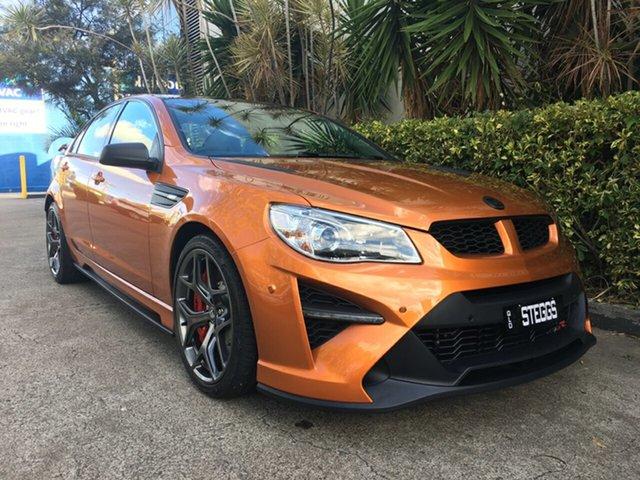 Used Holden Special Vehicles GTSR Gen F2 , 2017 Holden Special Vehicles GTSR Gen F2 Orange 6 Speed Manual Sedan