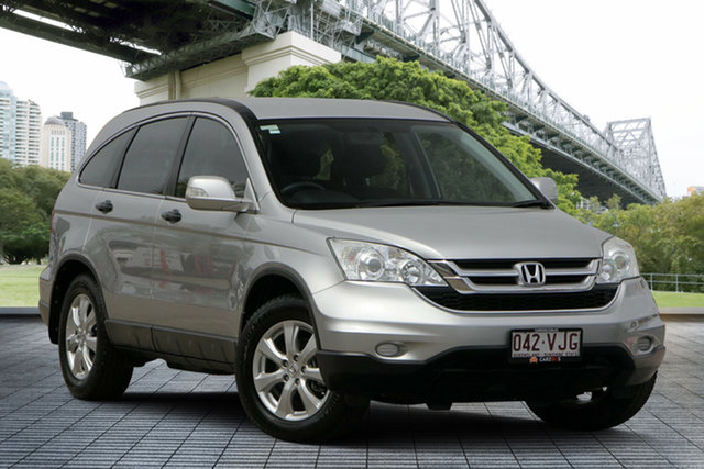 Used Honda CR-V RE MY2011 4WD, 2012 Honda CR-V RE MY2011 4WD Silver 6 Speed Manual Wagon
