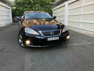 2010 Lexus IS GSE20R MY10 IS250 C Sports Luxury Purple 6 Speed Sports Automatic Convertible.