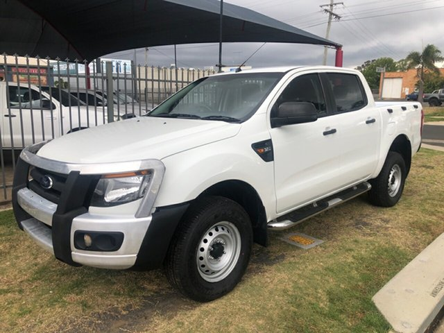 Used Ford Ranger PX XL 3.2 (4x4), 2015 Ford Ranger PX XL 3.2 (4x4) White 6 Speed Automatic Dual Cab Utility