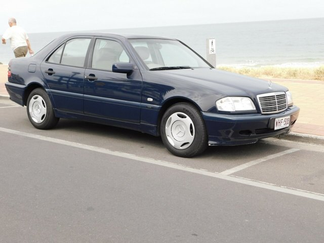 Used Mercedes-Benz C-Class W202 C180 Classic, 1999 Mercedes-Benz C-Class W202 C180 Classic Blue 5 Speed Automatic Sedan