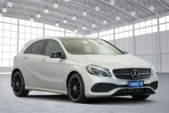 Used Mercedes-Benz A-Class W176 807MY A200 D-CT, 2017 Mercedes-Benz A-Class W176 807MY A200 D-CT Silver 7 Speed Sports Automatic Dual Clutch