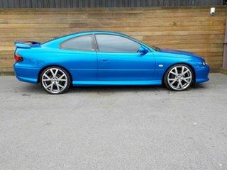 2003 Holden Monaro V2 Series III CV8 Blue 6 Speed Manual Coupe.