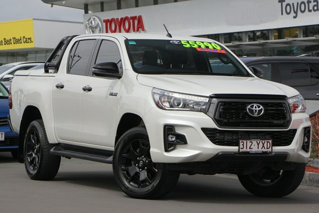 Used Toyota Hilux GUN126R SR5 Double Cab, 2017 Toyota Hilux GUN126R SR5 Double Cab Crystal Pearl 6 Speed Sports Automatic Utility
