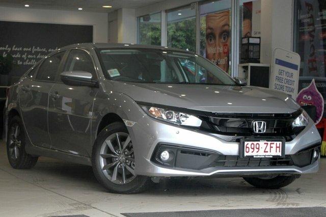 New Honda Civic 10th Gen MY19 VTi-S, 2019 Honda Civic 10th Gen MY19 VTi-S Lunar Silver 1 Speed Constant Variable Sedan