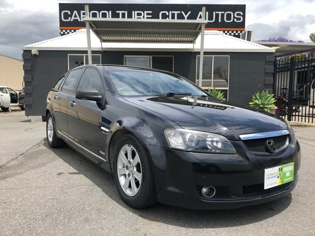 Used Holden Calais VE MY10 , 2009 Holden Calais VE MY10 Black 6 Speed Automatic Sportswagon