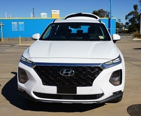 2018 Hyundai Santa Fe TM MY19 Elite White Cream 8 Speed Sports Automatic Wagon