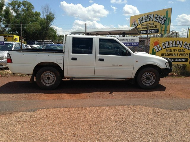 Used Holden Rodeo  , 2002 Holden Rodeo White 5 Speed Manual Dual Cab