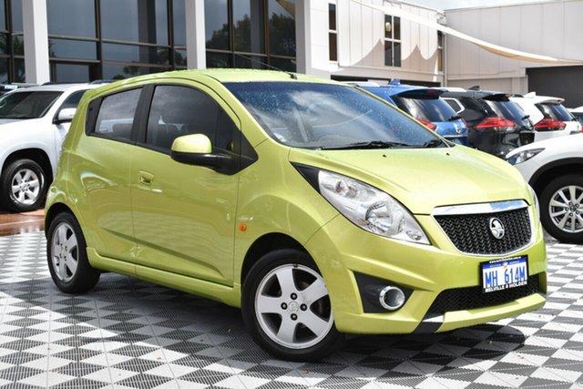 Used Holden Barina Spark MJ MY11 CDX, 2011 Holden Barina Spark MJ MY11 CDX Green 5 Speed Manual Hatchback