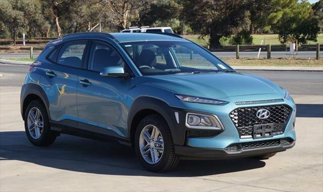Demo Hyundai Kona OS.2 MY19 Active 2WD, 2018 Hyundai Kona OS.2 MY19 Active 2WD Ceramic Blue 6 Speed Sports Automatic Wagon