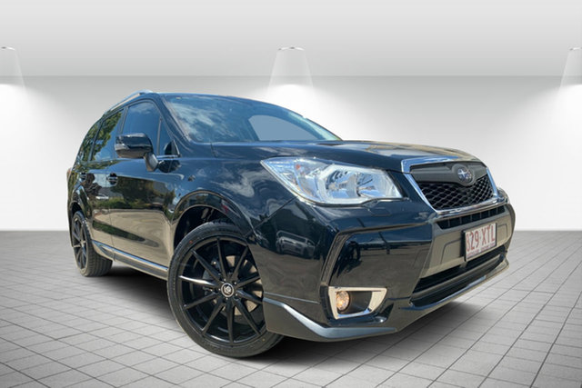Used Subaru Forester S4 MY15 XT CVT AWD Premium, 2015 Subaru Forester S4 MY15 XT CVT AWD Premium Black 8 Speed Constant Variable Wagon