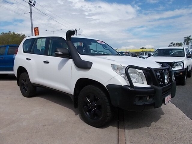 Used Toyota Landcruiser Prado KDJ150R GX, 2013 Toyota Landcruiser Prado KDJ150R GX White 6 Speed Manual Wagon