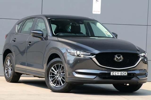 Demo Mazda CX-5 KF4WLA Touring SKYACTIV-Drive i-ACTIV AWD, 2019 Mazda CX-5 KF4WLA Touring SKYACTIV-Drive i-ACTIV AWD Machine Grey 6 Speed Sports Automatic