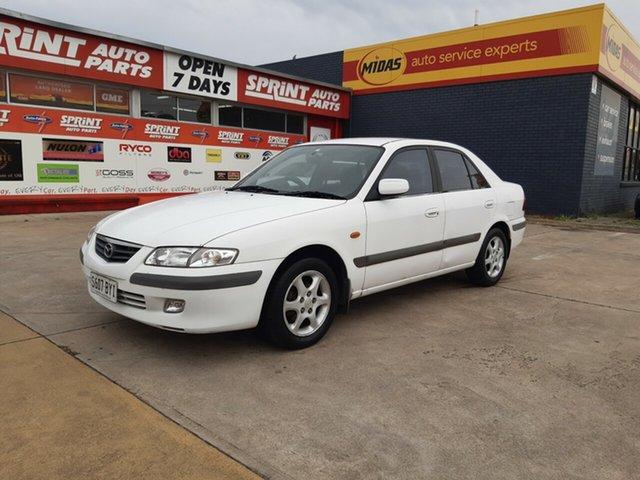 Used Mazda 626 GF Classic, 1999 Mazda 626 GF Classic White 4 Speed Automatic Sedan
