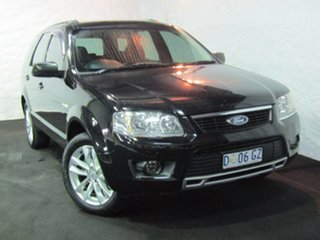 2009 Ford Territory SY TS AWD Black 6 Speed Sports Automatic Wagon.