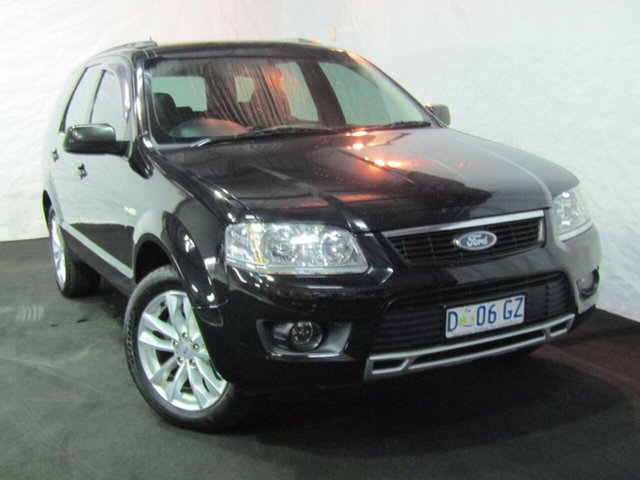 Used Ford Territory SY TS AWD, 2009 Ford Territory SY TS AWD Black 6 Speed Sports Automatic Wagon