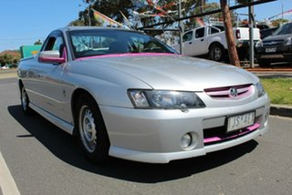 2004 Holden Commodore VY II Storm Silver 5 Speed Manual Utility