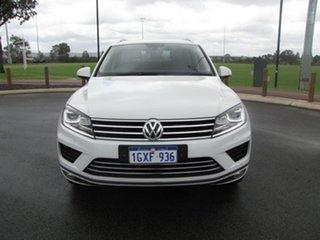 2015 Volkswagen Touareg 7P MY16 150TDI Tiptronic 4MOTION White 8 Speed Sports Automatic Wagon