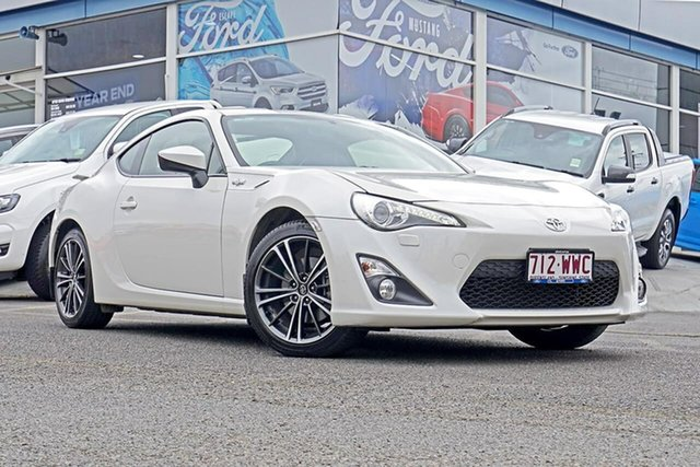 Used Toyota 86 ZN6 GTS, 2016 Toyota 86 ZN6 GTS White 6 Speed Sports Automatic Coupe