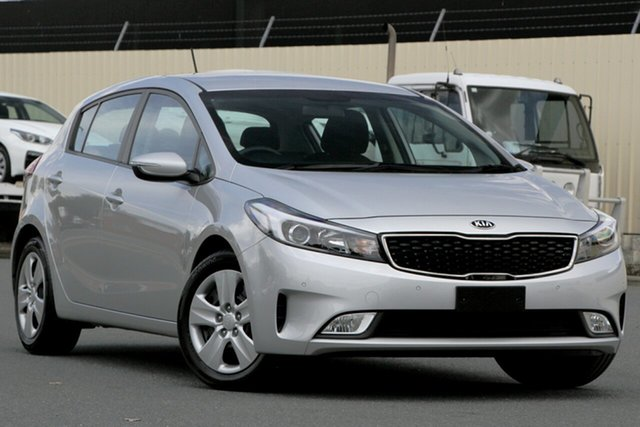 Used Kia Cerato YD MY18 S, 2018 Kia Cerato YD MY18 S Silver 6 Speed Sports Automatic Hatchback