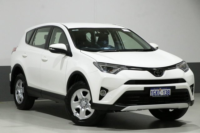 Used Toyota RAV4 ZSA42R MY18 GX (2WD), 2017 Toyota RAV4 ZSA42R MY18 GX (2WD) Pearl White Continuous Variable Wagon