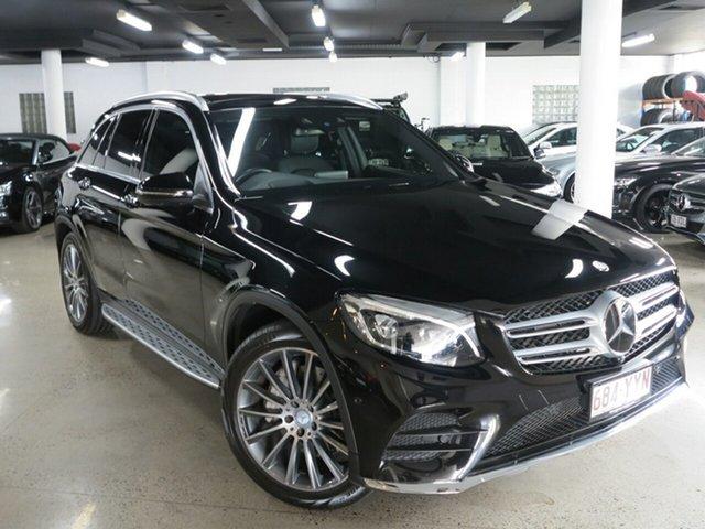 Used Mercedes-Benz GLC-Class X253 GLC250 9G-Tronic 4MATIC, 2015 Mercedes-Benz GLC-Class X253 GLC250 9G-Tronic 4MATIC Black 9 Speed Sports Automatic Wagon