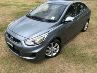 2018 Hyundai Accent RB6 MY18 Sport Lake Silver 6 Speed Sports Automatic Sedan.