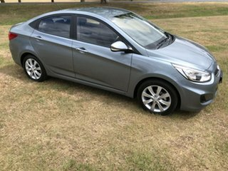 2018 Hyundai Accent RB6 MY18 Sport Lake Silver 6 Speed Sports Automatic Sedan