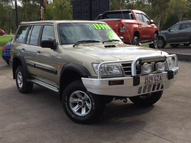 Used Nissan Patrol GU III MY2003 ST, 2003 Nissan Patrol GU III MY2003 ST Gold 4 Speed Automatic Wagon