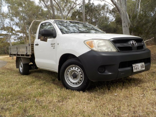 Used Toyota Hilux GGN15R MY05 SR 4x2, 2005 Toyota Hilux GGN15R MY05 SR 4x2 5 Speed Manual Utility