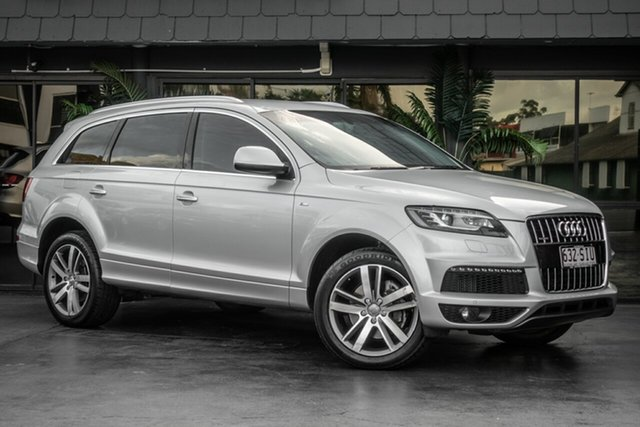 Used Audi Q7 MY12 TDI Tiptronic Quattro, 2012 Audi Q7 MY12 TDI Tiptronic Quattro Silver 8 Speed Sports Automatic Wagon