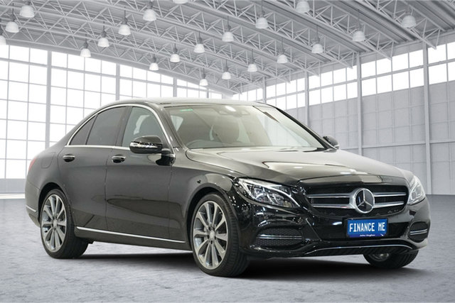 Used Mercedes-Benz C-Class W205 C250 BlueTEC 7G-Tronic +, 2014 Mercedes-Benz C-Class W205 C250 BlueTEC 7G-Tronic + Black 7 Speed Sports Automatic Sedan