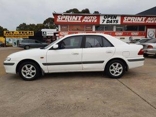 1999 Mazda 626 GF Classic White 4 Speed Automatic Sedan