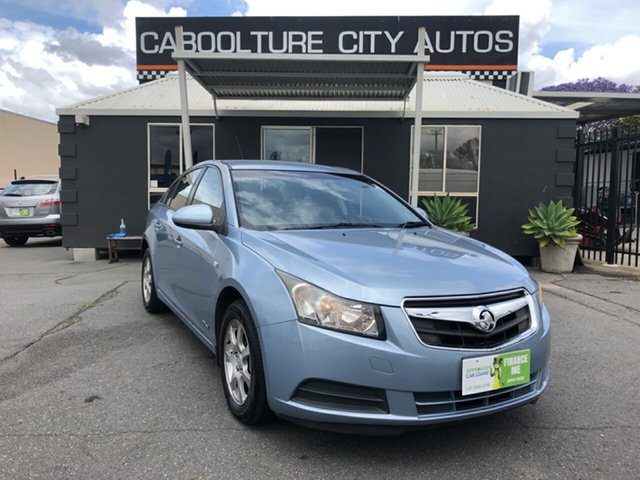 Used Holden Cruze JG CD, 2010 Holden Cruze JG CD Blue 6 Speed Automatic Sedan