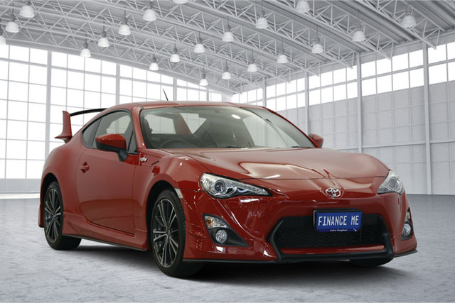 Used Toyota 86 ZN6 GTS, 2013 Toyota 86 ZN6 GTS Red 6 Speed Manual Coupe