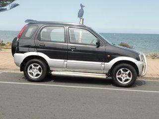 2005 Daihatsu Terios J102 DX Black 4 Speed Automatic Wagon.