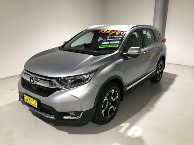 Used Honda CR-V RW MY19 VTi-S 4WD, 2019 Honda CR-V RW MY19 VTi-S 4WD Silver 1 Speed Constant Variable Wagon