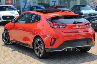 2019 Hyundai Veloster JS MY20 Turbo Coupe D-CT Premium Tt1 7 Speed Sports Automatic Dual Clutch.