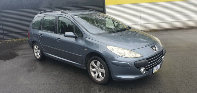Used Peugeot 307 T6 XSE HDi Touring, 2007 Peugeot 307 T6 XSE HDi Touring Grey 6 Speed Manual Wagon