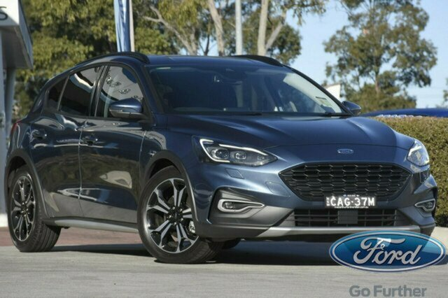 Used Ford Focus SA 2019.75MY Active, 2019 Ford Focus SA 2019.75MY Active Blue 8 Speed Automatic Hatchback
