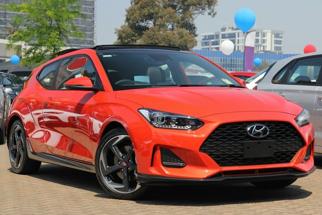 New Hyundai Veloster JS MY20 Turbo Coupe D-CT Premium, 2019 Hyundai Veloster JS MY20 Turbo Coupe D-CT Premium Dark Knight 7 Speed