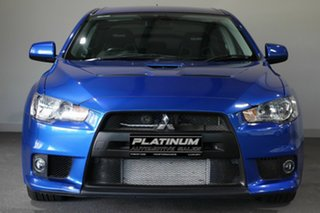 2012 Mitsubishi Lancer CJ MY12 Evolution Blue 5 Speed Manual Sedan