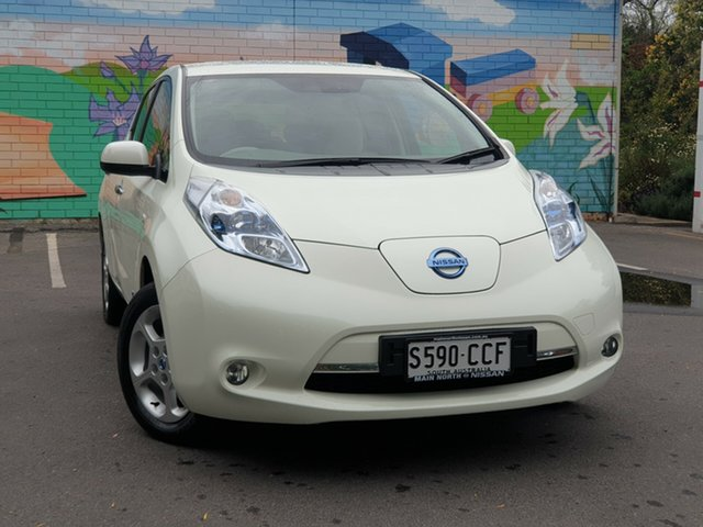 Used Nissan Leaf ZE0 , 2012 Nissan Leaf ZE0 Polar White 1 Speed Reduction Gear Hatchback