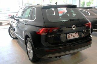 2019 Volkswagen Tiguan 5N MY19.5 132TSI DSG 4MOTION Comfortline Deep Black 7 Speed.