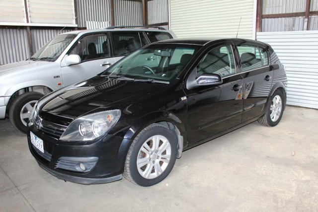 Used Holden Astra AH MY06.5 CDTi, 2006 Holden Astra AH MY06.5 CDTi Black 6 Speed Manual Hatchback